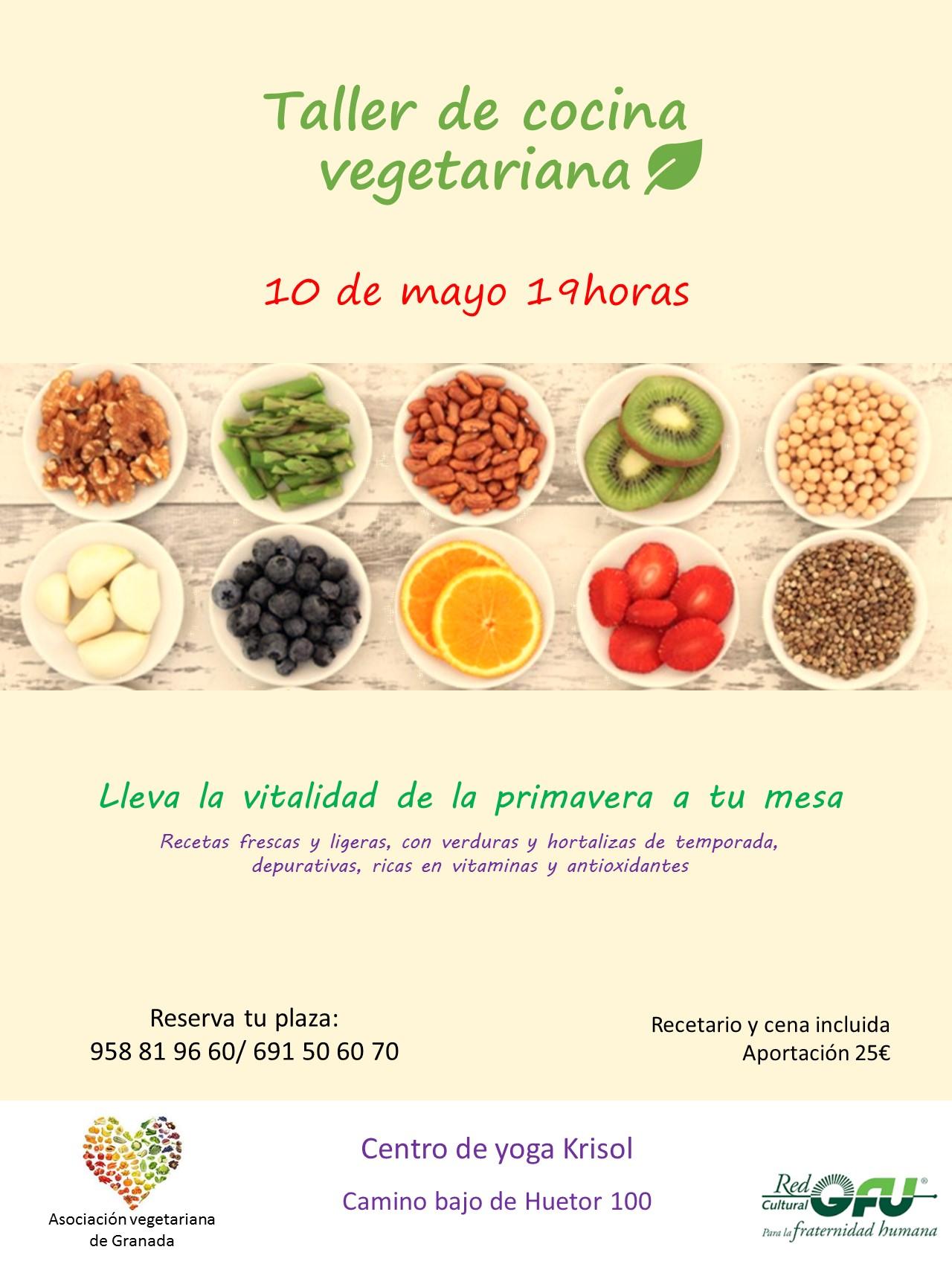 Taller de cocina vegetariana krisol - Escuela de cocina vegetariana ...